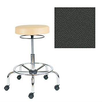 Office Master Classic Collection CL33 Ergonomic Classic-Professional Stools - No Armrests - Grade 1 Fabric - Spice