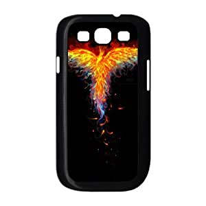 Samsung Galaxy S39300Cell Phone funda negro fuego Phoenix a4410796