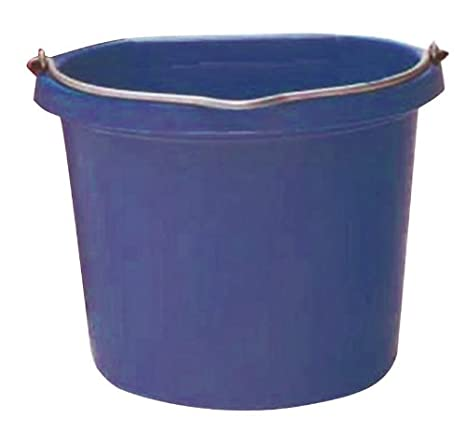 Image Unavailable Image Not Available For Color Fortiflex Flat Back Bucket 5 Gallon Purple