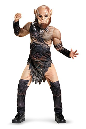 Orgrim Classic Muscle Warcraft Legendary Costume, Medium/7-8 ()