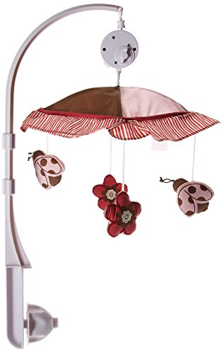 GEENNY Musical Mobile, Boutique Ladybug Flower