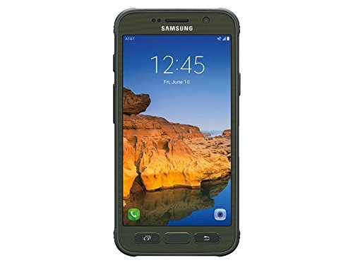 Samsung Galaxy S7 Active 32GB Camo Green GSM Unlocked (Green Line On Screen Galaxy S7 Edge)
