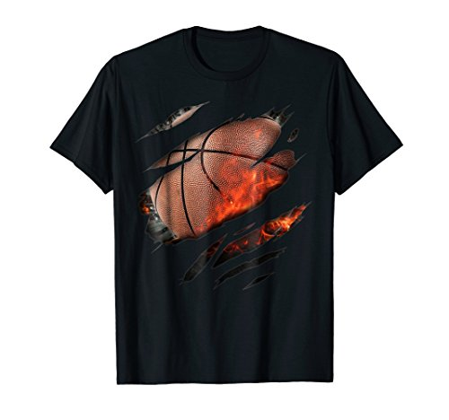 (Basketball in me T-Shirt, Basketballshirt )