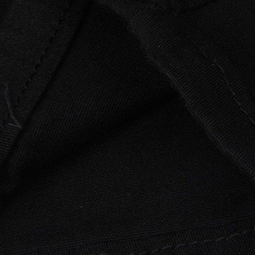 Cintura Lápiz Jeans De Pantalones Negro Skinny Alta Elástico Básicos Slim Flacos Vaqueros Rasgados Mujer xnwx0B6TqA