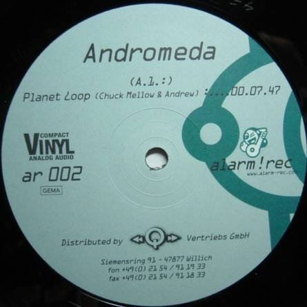 Andromeda - Planet Loop / Space Cake - Alarm-Rec - AR 002