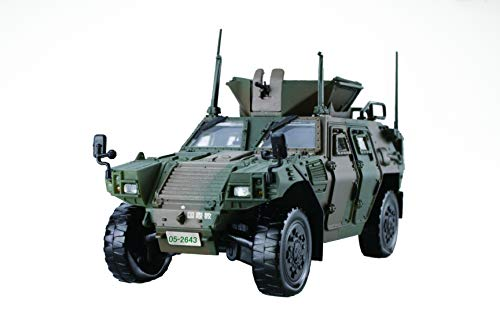 - Fujimi Model 1/72 Military Series No.17 Ground Self-Defense Force Light Armored Vehicle (State Religion Corps) (2-Car Set) Plastic Model ML17