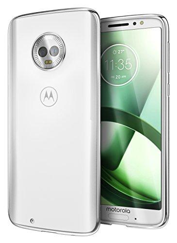 Cimo Slim Grip Moto G6 Case with Premium TPU Protection for Motorola Moto G6 - Clear