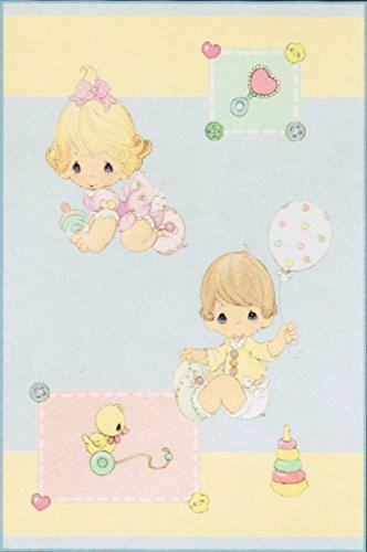 [Precious Moments Luxury Baby Plush Blanket] (Precious Moments Bath)