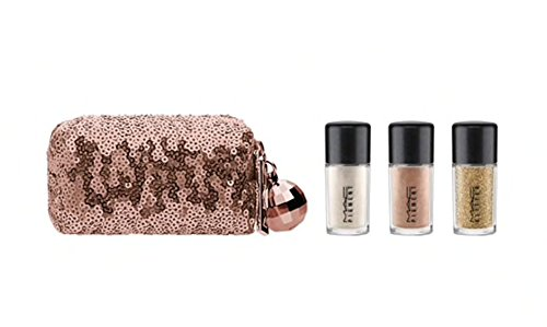 Mac SNOW BALL PIGMENT AND GLITTER KIT - GOLD