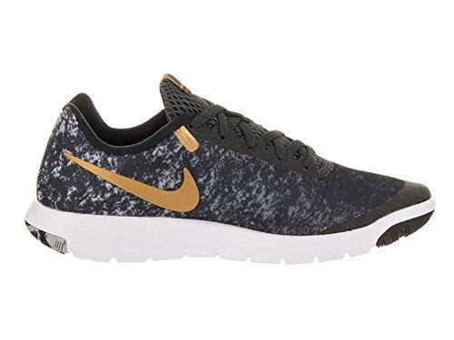 Nike Womens Flex Experience Rn 6 Scarpa Da Corsa Nero / Oro-m