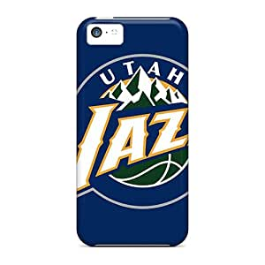 ColtonMorrill Iphone 5c Shock Absorption Cell-phone Hard Cover Custom High-definition Utah Jazz Image [qne20059NPDF]