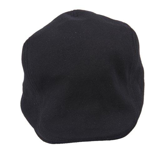 (ビグッド)Bigood 無地 ハンチング 帽子 鳥打ち帽 シンプル 帽子 キャップ カジュアル帽 メンズ?レディース兼用 ユニセックス コットンハット ブラック