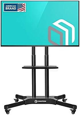 ONKRON TS1351 Soporte básico con ruedas para TV de tamaño medio con la pantalla diagonal 40
