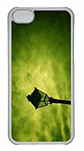 LJF phone case ipod touch 4 Case, Personalized Custom Street Lamp for ipod touch 4 PC Clear Case