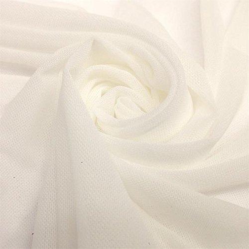 (Solid Power Mesh Fabric Nylon Spandex 60