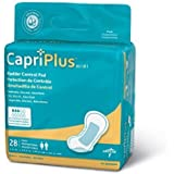 CapriPlus Bladder Control Pads Regular, jExtra Plus and Ultra (Extra Plus 6.5 x 13.5 - BCPADE02 - 168 pads) by CapriPlus