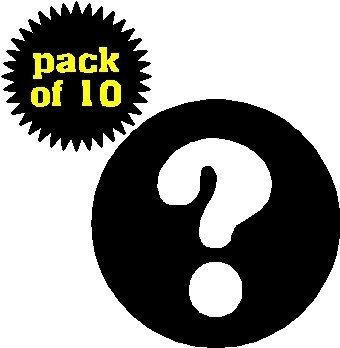 (Quantity 10) Question Mark 1.25