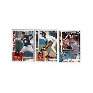 1984 Topps Baseball Complete Mint 792 Card Set with Don Mattingly and Darryl Strawberry Rookies! -