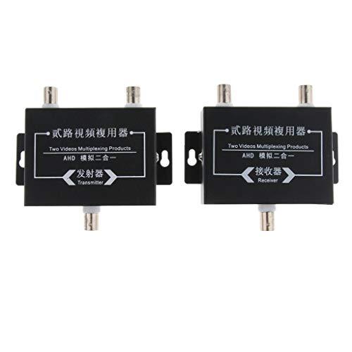 Baosity 2Pcs Industrial Surveillance Video Multiplexer 2Way Signal Receiver Transmitter by Baosity (Image #3)