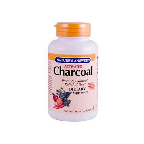Nature'S Answer Charcoal Activated 90 Sgel by Nature's Answer
