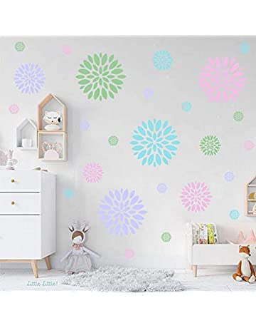 30079d3e6881 Blooming Flower Wall Decal Home Decoration