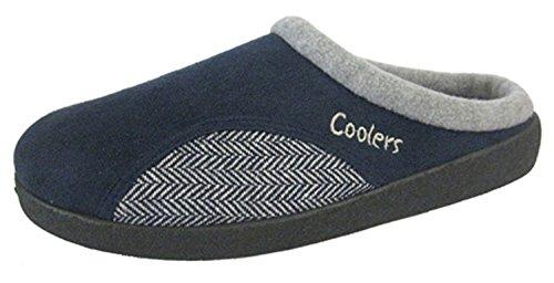 Coolers ,  Herren Durchgängies Plateau Sandalen mit Keilabsatz Dunkelblau