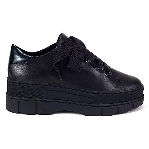 Roose C4002 blu Blue da B Sneakers Low Geox D scuro donna 5nO6CUx
