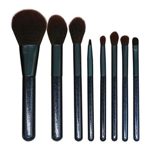 - Yutao 8PCS Premium Makeup Brush Set Professional Makeup Tool Eye Brush Eyeshadow Eyeliner Nose Smoky Eyebrow Comestic Set