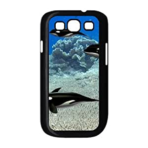 Dolphin The Unique Printing Art Custom Phone Case for Samsung Galaxy S3 I9300,diy cover case ygtg518755