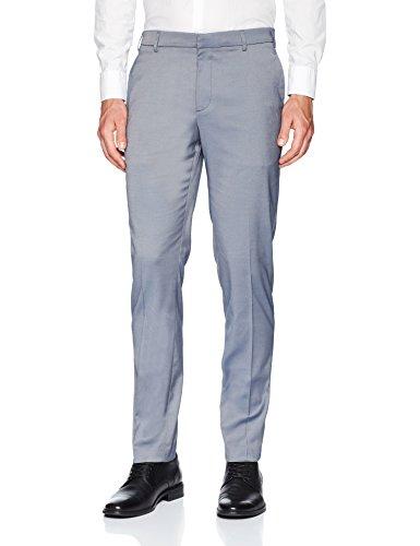 (Perry Ellis Men's Portfolio Very Slim Fit Stretch Iridescent Pant, Coastal f jord, 32x32)