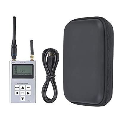 Spectrum Analyzer, 3G Handheld Pocket Size Aluminum Case Spectrum Analyzer 15-2700 MHz Electric Leads 15-2700 MHz, Brand New and