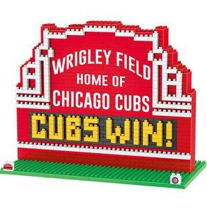Wrigley Field Marquee BRXLZ Chicago Cubs Cubs 2016 World (Wrigley Field Chicago Cubs)