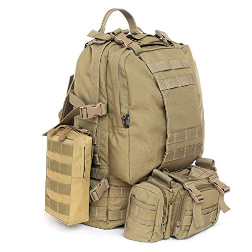 Phone Hiking Military Camp Pocket Molle Bags 2x Belt Pouch Tan Waist xwZ4YwqI