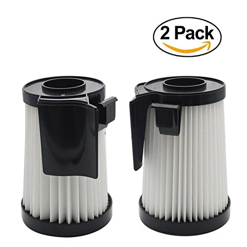 EZ SPARES 2Pcs Eureka DCF-10 & DCF-14 Filter Hepa Fits Optima Series Replacement Attachment Compatible With Part # 62731 & (Eureka Optima Hepa Filter)