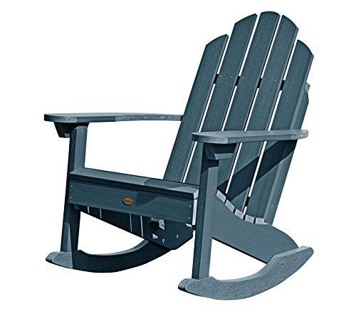 Highwооd Patio Outdoor Garden Premium Westport Rocking Chair, One Size Nantucket Blue ()
