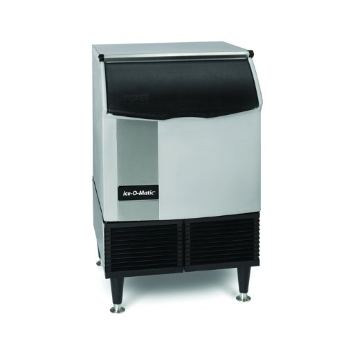 Ice-O-Matic ICEU220FW Self-Contained Full Cube Ice Machine with Water...