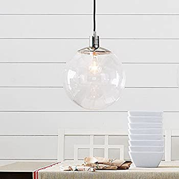LightInTheBox 60W E27 Pendent Light In Glass Ball Feature Morden Simple  Home Ceiling Light Fixture