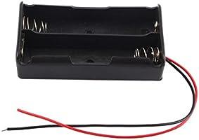 Zerone Soporte de batería de 3,7 V 18650, 2 montones de pilas ...