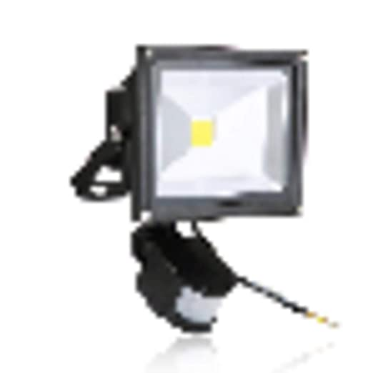 FreedomT Proyector De 20W Con Sensor, 2000lm Proyectores LED ...