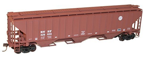 - Accurail HO KIT PS-4750 3-Bay Covered Hopper, BNSF