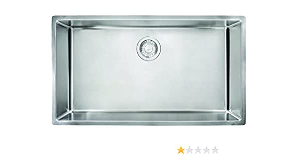 Amazon.com: Franke CUX11030 Cube 18G Stainless Steel Single Bowl Kitchen Sink by Franke: Home & Kitchen