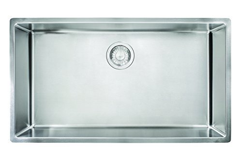 Franke CUX11030 Cube 18G Stainless Steel Single Bowl Kitchen Sink by Franke by Franke
