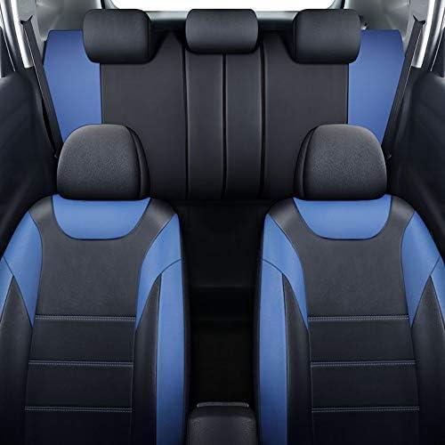Coprisedili anteriori in pelle blu per Mercedes Benz Classe E W210 W211 W212 W213 W124 W245 W246 C Class W202 W203 W204 W205 GLK 350 X 204 GLC 300 ml 320 ml 350 W163 W164 W166 GLE Chemu