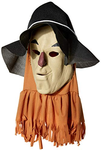 Rubie's Wizard Of Oz Scarecrow Mask, Tan, ()