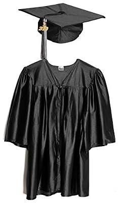 Preschool and Kindergarten Graduation Cap and Gown, Tassel and 2018 Charm