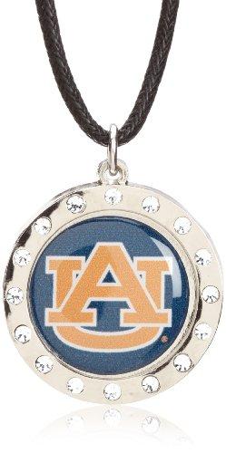 Auburn Tigers Crystal Necklace - NCAA Auburn Tigers Crystal Circle Necklace