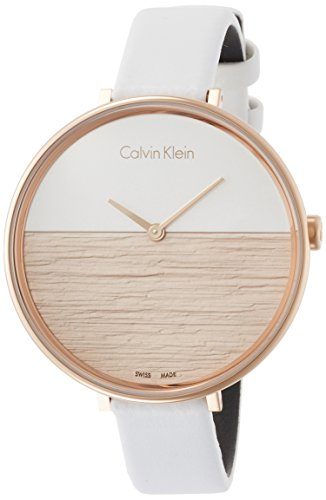 Calvin Klein Rise Ladies Watch Two-Tone Dial K7A236LH