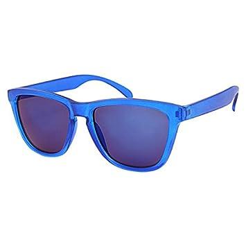 Sonnenbrille Panto Brille verspiegelt 400 UV Wayfarer blau grün pink grün Zbsy83O
