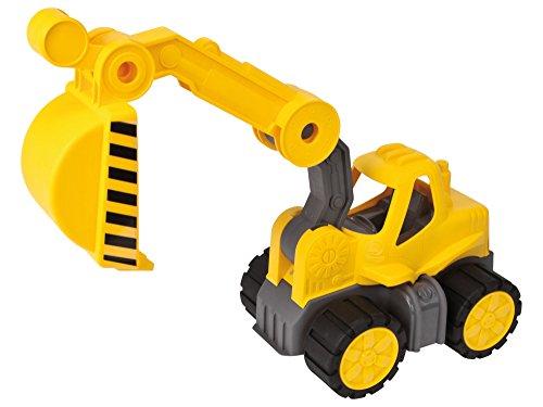 Big- 800056835- Vehicule Enfant, Big Power Truck Pelleteuse, Jeu de Sable, Jaune