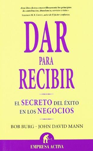 Dar para recibir (Spanish Edition)